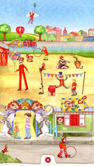 Animal Circus: Toddler's Seek & Find App gone free today